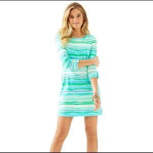 Lilly Pulitzer Linden Sea Stripe T-shirt Dress XS